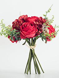 abordables -Fleurs artificielles 1 Une succursale Mariage / Style européen Roses / Hortensias / Plantes Fleur de Table