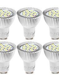 cheap -YouOKLight 6pcs 6W 500lm GU10 LED Spotlight 15 LED Beads SMD 5730 Decorative Warm White Cold White 85-265V