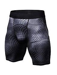 preiswerte -Herrn Laufschuhe Atmungsaktivität Shorts/Laufshorts Übung & Fitness Polyester Weiß Schwarz Purpur Blau Rot/Weiß S M L XL XXL