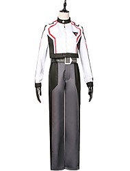 cheap -Inspired by Macross Frontier Cosplay Anime Cosplay Costumes Cosplay Suits Other Long Sleeves Top Pants More Accessories Waist Belt For