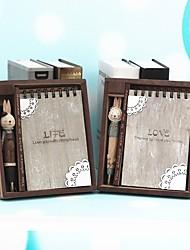 baratos -Não-Personalizado Resina Papel puro Caderno Amigos Bebés e Crianças Aniversário Roupa Diária
