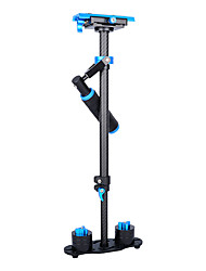cheap -YELANGU Popular 60cm Carbon Fiber Camera Stabilizer S60T With Blue Color Support DSLR Universal Cameras
