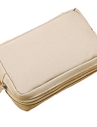 abordables -sacs de stockage pour l'alimentation d'énergie flash drive disque dur banque d'alimentation casque / écouteur couleur unie tissu d'oxford