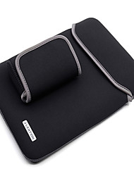 mangas para macbook pro 13-inch pure color oxford cloth