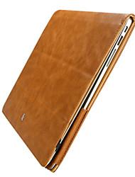 Недорогие -MacBook Кейс для Сплошной цвет Кожа PU MacBook 12''