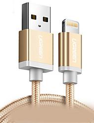 abordables -Eclairage Adaptateur de câble USB Charge rapide Câble Pour iPhone 150 cm Nylon