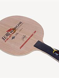 baratos -DHS® Hurricane H-WL-GC FL Ping Pang/Tabela raquetes de tênis Vestível Durável De madeira Fibra de carbono 2 + GC + 2 1