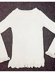 povoljno -Žene Osnovni Pullover Jednobojni