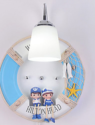 cheap -Novelty Picture Wall Lights Bedroom / Study Room / Office Metal Wall Light 220-240V 40W