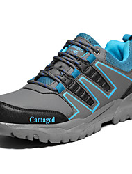 cheap -Men's Shoes PU Spring Comfort Athletic Shoes Hiking Shoes for Athletic Gray Army Green