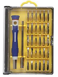 abordables -Teléfono móvil Kit de herramientas de reparación 30 in 1 Extensión para destornillador Destornillador Punta para sacar la tarjeta SIM