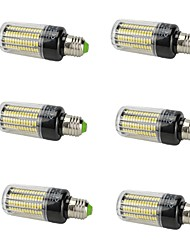 cheap -6pcs 15W 1380lm E14 E26 / E27 LED Corn Lights T 156 LED Beads SMD 5736 Decorative Warm White Cold White 85-265V
