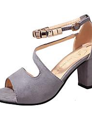 Недорогие -Жен. Обувь Полиуретан Зима Зимние сапоги Ботинки На плоской подошве Круглый носок Ботинки для Повседневные Белый Черный Розовый