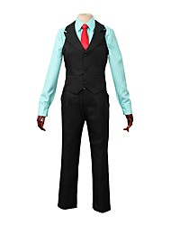 cheap -Inspired by Yuri!!! on ICE Anime Cosplay Costumes Cosplay Suits Other Long Sleeve Vest / Shirt / Pants For Men's / Women's Halloween Costumes