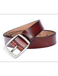cheap -Women's Basic Leather Wide Belt - Solid Colored Basic