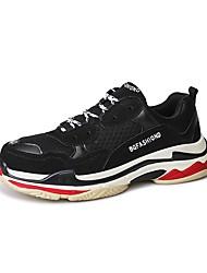 Недорогие -Универсальные Обувь Дышащая сетка Весна / Осень Удобная обувь Спортивная обувь Беговая обувь Платформа Черный / Темно-синий / Желтый