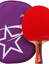 economico -DHS® R2002 FL Ping-pong Racchette Gomma da cancellare 2 Stelle Manopola  lunga Brufoli