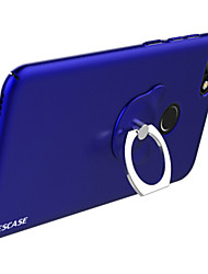 cheap -Case For Huawei Y7 Prime(Enjoy 7 Plus) Shockproof Ring Holder Back Cover Solid Color Hard Plastic for Huawei Enjoy 7S