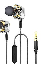 cheap -G2 Earphones (Earbuds, In-Ear) Wired Headphones Dynamic Copper Mobile Phone Earphone Mini Headset