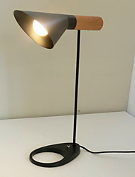 baratos -Tradicional / Clássico Decorativa Luminária de Mesa Para Metal 220-240V Branco / Preto