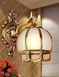 Недорогие -Традиционный/классический Настенные светильники Назначение Гостиная Спальня Металл настенный светильник 220-240Вольт 40W