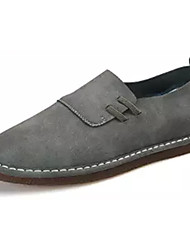 abordables -Homme Chaussures Cuir Nubuck Printemps Automne Confort Mocassins et Chaussons+D6148 pour Décontracté Gris Café Marron