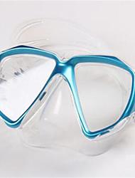 baratos -TUO Máscara de Snorkel / Máscara de Mergulho Anti Neblina Visor Duplo - Natação, Mergulho Borracha Silicone - para Adulto Amarelo /