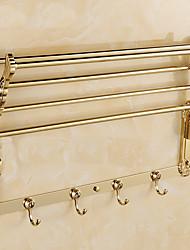Недорогие -Полка для ванной Многофункциональный Modern Металл На стену