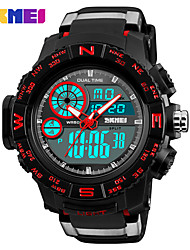cheap -SKMEI Men's Digital Digital Watch Military Watch Sport Watch Japanese Alarm Calendar / date / day Chronograph Water Resistant / Water