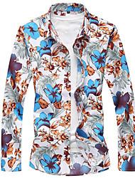 Majica Muškarci - Ulični šik Cvjetni print Osnovni