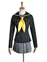 cheap -Inspired by Persona Series Cosplay Anime Cosplay Costumes Cosplay Suits Other Long Sleeve Top / Skirt / More Accessories For Men's / Women's Halloween Costumes