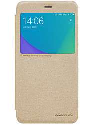 Недорогие -Кейс для Назначение Xiaomi Redmi Примечание 5A Redmi Note 4X с окошком Флип Матовое Чехол Сплошной цвет Твердый Кожа PU для Redmi Note 5A