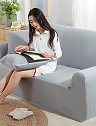 abordables -Moderno Jacquard de Poliéster al 100% Cobertor de Sillón Doble, Simple Un Color Impresión de Pigmentos Fundas