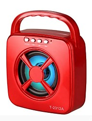 cheap -LST2312A Speaker Bluetooth Speaker Bluetooth 3.0 Audio (3.5 mm) Outdoor Speaker Red Blue
