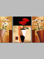 cheap -Oil Painting Hand Painted - Still Life Classic Canvas