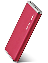 cheap -10000mAh Power Bank External Battery 5 Battery Charger QC 2.0 LED