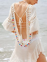 cheap -Women's Cover-Up - Solid Colored