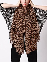 cheap -Women's Chiffon Rectangle - Leopard Basic