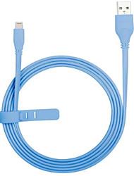 abordables -Eclairage Adaptateur de câble USB Charge rapide Haut débit Câble Pour iPhone 150 cm TPE