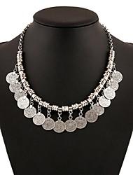 preiswerte -Damen Quaste Ketten - Retro, Modisch, überdimensional Silber 45 cm Modische Halsketten Für Party / Abend, Festtage