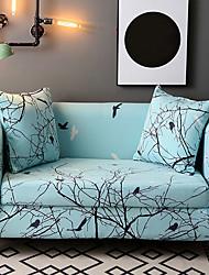 abordables -Moderno Inspirado en la Naturaleza Jacquard de Poliéster al 100% Cobertor de Sillón Doble, Simple Plantas Estampado Animal Impreso Fundas
