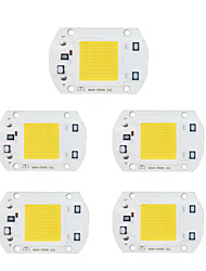 baratos -5pçs 220V para o projector DIY LED Flood Light Input Smart IC Chip LED Alumínio