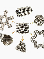 cheap -Magnet Toy Building Blocks Magic Prop Neodymium Magnet Magnetic Balls 216pcs 3mm Toys Magnet Metal Magnetic Sphere Cylindrical Christmas