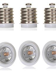 cheap -6pcs E40 to E27 Converter Bulb Accessory Light Socket Aluminum Plastic