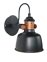 billige -JZGLDS Mat / Ministil Simple / LED Væglamper Stue / Soveværelse / Spisestue Metal Væglys 110-120V / 220-240V 40W
