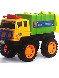Недорогие -Игрушечные машинки Строительная техника Транспорт Автомобиль утонченный ПВХ / винил Детские Универсальные Мальчики Девочки Игрушки Подарок