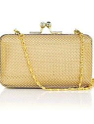 baratos -Mulheres Bolsas Liga Bolsa de Mão Vazados Dourado
