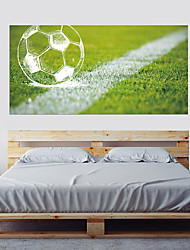 cheap -Decorative Wall Stickers - Plane Wall Stickers Football 3D Living Room Bedroom Bathroom Kitchen Dining Room Study Room / Office