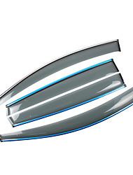 economico -4pcs Auto Deflettori e scudi trasparente Tipo di fibbia / Incolla il tipo For Finestrino della macchina For Volkswagen Tiguan Tutti gli