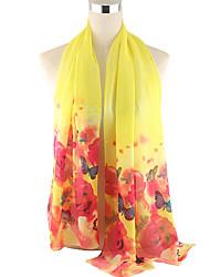 cheap -Women's Basic Rectangle - Floral, Mesh